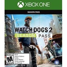 ✅ Watch_Dogs 2 - Season Pass DLC XBOX ONE Key 🔑