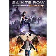 Saints Row IV: Re-Elected & Gat out  Xbox One code🔑