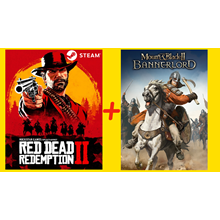 💎⭐💎 Red Dead Redemption 2 + Mount Blade II Bannerlord