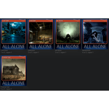 5 sets of steam game cards All Alone: VR + 500 XP