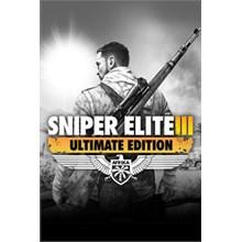 Sniper Elite 3 ULTIMATE EDITION Xbox One code🔑