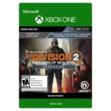 ✅ The Division 2 Warlords of New York Expansion XBOX 🔑