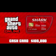 GTA V Online: Red Shark Cash Card PC(Global) 100000$