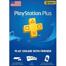 PLAYSTATION PLUS (PSN PLUS) 12 MONTHS | 365 DAYS (USA)