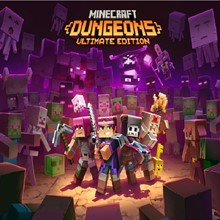 Minecraft Dungeons Ultimate Edition XBOX ONE key 🔑🥇✔️