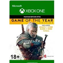 The Witcher 3: Wild Hunt GOTY XBOX ONE game code / key