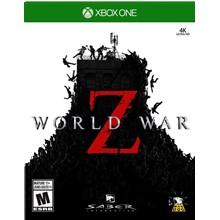 ✅⭐✅ World War Z   XBOX ONE   LIFETIME WARRANTY❤️🎮