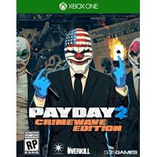 ✅⭐✅ PAYDAY 2: CRIMEWAVE EDITIONXBOX ONE   WARRANTY❤️🎮
