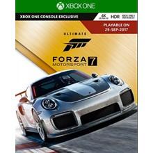Forza Motorsport 7 Ultimate Edition (XBOX / WIN10)