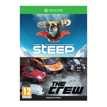 Steep and The Crew XBOX ONE game code / key