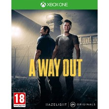 A WAY OUT XBOX ONE game code