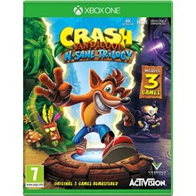 ✅Crash Bandicoot ™ N. Sane Trilogy Xbox One Key 🌍🔑🔑
