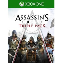 Assassin´s Creed Triple Pack (AC Pack) - Xbox One Key