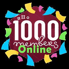 1k Telegram online Members