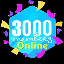 3k Telegram online Members