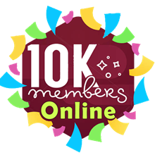 10k Telegram online Members