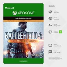 Battlefield 4 Premium Edition XBOXONE game code / key