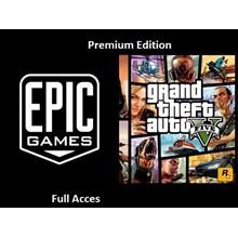 Grand Theft Auto V Online GTA 5 Epic Games  Account