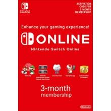 Nintendo Switch Online 3-Months Individual key -- RU