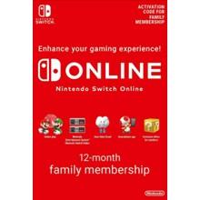 Nintendo Switch Online 12-Months Family key -- RU