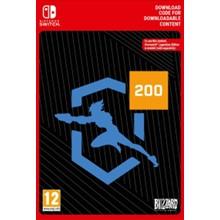 Overwatch 200 League Token (Nintendo Switch key) -- RU