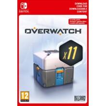 Overwatch 11 Loot Boxes (Nintendo Switch key) -- RU