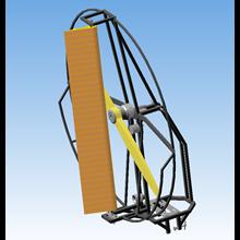 Airliner powerplant - 3D model in KOMPAS-3D