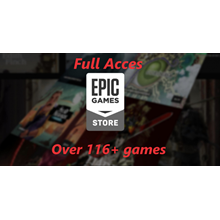 Account Epicgames store with all 170+ games from giveaw