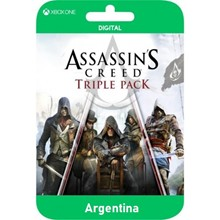 ASSASSIN´S CREED TRIPLE PACK (AC XBOX Pack) XBOX🔑KEY