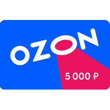 Ozon.ru Electronic gift certificate (5000 RUB.)