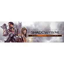 Middle-earth Shadow of War Definitive STEAM REGION FREE