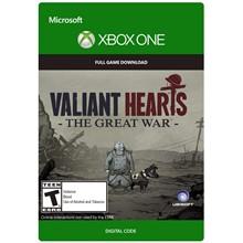 ✅Valiant Hearts The Great War XBOX One key🌍 🔑