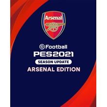 eFootball PES 2021 SEASON UPDATE ARSENAL EDITION ✅