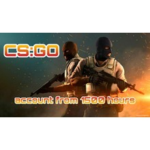 CS:GO account 🔥 from 1500 to 2500 hours ✅ First mail