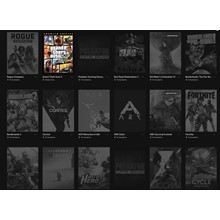 Account EpicGames / Red Dead 2 / Control / GTA 5