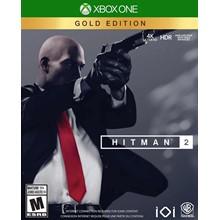 ✅⭐✅ HITMAN 2 Gold Edition XBOX ONE   WARRANTY ❤️🎮