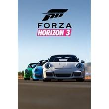 ✅ Forza Horizon 3 Porsche Car Pack DLC XBOX ONE Key 🔑