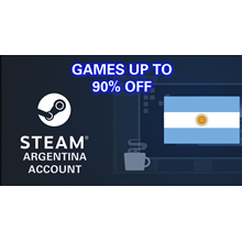 New Steam Account Argentina (Full access) PayPal