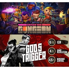Enter the Gungeon + God´s Trigger | EPIC GAMES | MAIL