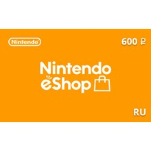 🔥 GIFT CARD NINTENDO ESHOP 600 RUB [RU] RUSSIA