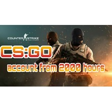 CS:GO account 🔥 from 2000 to 3000 hours ✅ Native mail