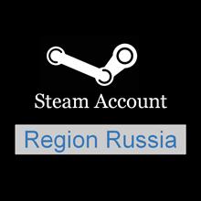 New Steam Account (Region Russia / Full access)