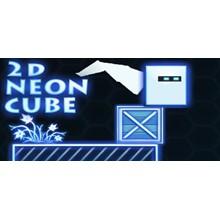 2D Neon Cube - STEAM Key - Region Free / ROW / GLOBAL