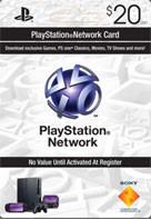PLAYSTATION NETWORK (PSN) - $20 (USA)🔥