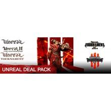 Unreal Deal Pack (1 +2 +3 +2004 +Tournament) STEAM / RU