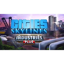 CITIES SKYLINES INDUSTRIES PLUS (STEAM) INSTANTLY +GIFT