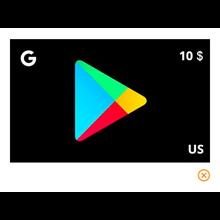 Google Play Gift Card 10$  ( USA)