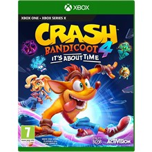 Crash Bandicoot4:It's a About Time/XBOX ONE,Series X S 