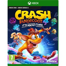 🎮Crash Bandicoot 4: It's About Time/XBOX ONE/X S🎮
