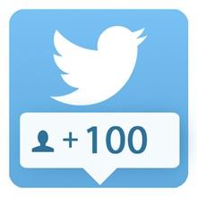 100 followers Twitter